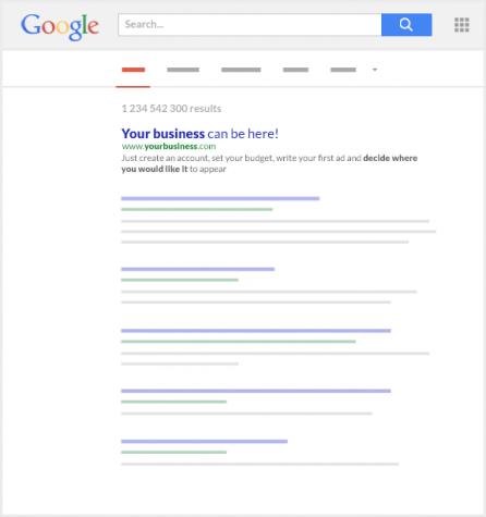 Imagem do Google com ranking