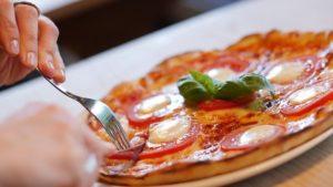 pizza no prato - marketing para pizzaria